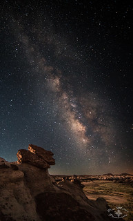 Milky Way over the Bisti