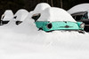 Winter Boneyard (ISP Bruno Laplante) Tags: winter snow boneyard old car rust decay white decaying aqua chevy scrap scrapyard oldsmobile 1957 57 explore
