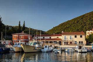 Krnički porat na istočnoj obali Istre