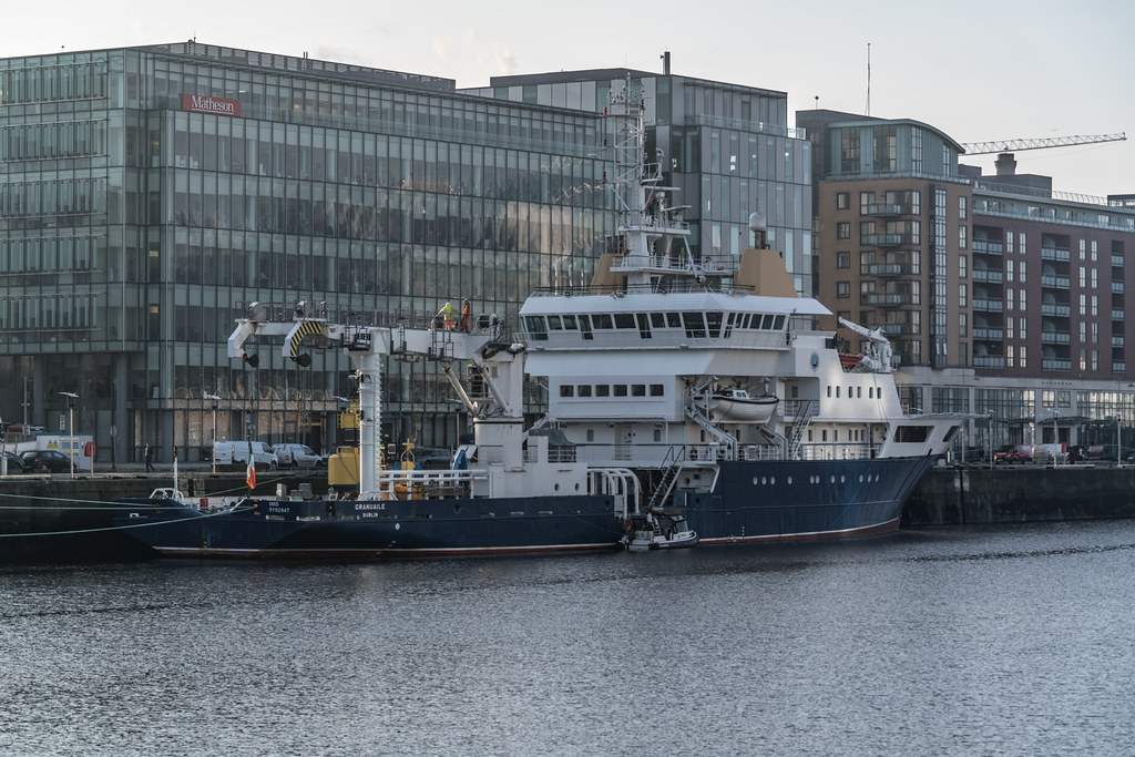 ILV GRANUAILE VISITS DUBLIN [11 JANUARY 2018]-135375