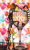 the morning after ? (janemetcalfe13) Tags: glass wineglass celebration 7dwf birthday crazytuesdaytheme happy2yeaar7dwf streamers balloons refraction