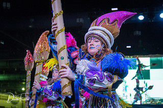 2018 Philadelphia Mummers Parade - Downtowners Fancy Brigade