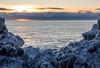Just moments (katrin glaesmann) Tags: iceland island unterwegsmiticelandtours photographyholidaywithicelandtours snow winter sunrise snæfellsnes sea ice clouds