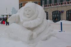 Sculpture du Carnaval de Québec, Canada - 4740 (rivai56) Tags: villedequébec québec canada ca carnavaldequébec sony hiver winter snow sculpture du carnaval de 315000 quebec carnival