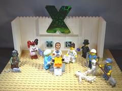 24 X Xray (RevDrPepper) Tags: x februaryalphabetfun legominifigures emergencyroom johnbroome batman xray eraser puns
