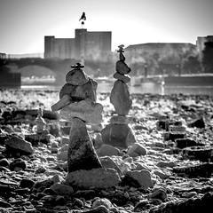 Dresden Hard Rock (alexander.koltsov) Tags: blackandwhite blackwhite bluesky bnw brühlscheterrasse bw dresden elbe formalism germany minimal minimalism minimalmood noir oldcity outdoorphotography riverbank tourism travel travelphotography vintage vintagephoto