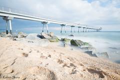 Larga exposicion en el Pont del Petroli en Badalona! Una tarde de experimentos y pruebas (r_suria) Tags: 1116 clavealta largaexposicion nikon nikond3200 paisaje playa pontdelpetroli rubensuria tokina tokina1116 badalona catalunya españa es