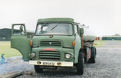 1971 airfield Albion (Reiver RE229) Tags: 1971 albion tanker southport airfield 401 clydesdale