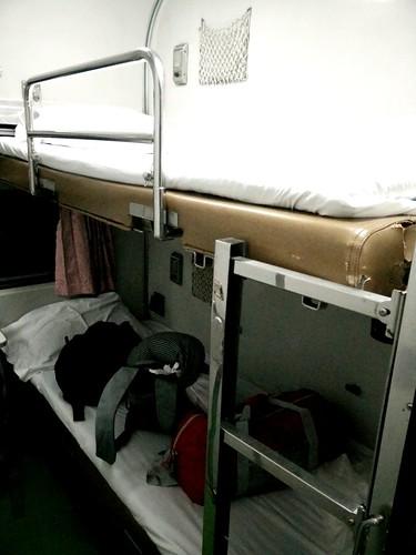 First class sleeper cabin