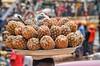 A head full of pineapples (Pejasar) Tags: fruit people africa westafrica ghana ho candid street balance head platter pineapple