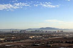 a flat city: Las Vegas