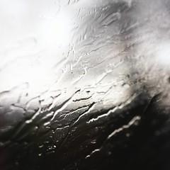 What Follows Sadness (Therese Trinko) Tags: rain window train blackandwhite joy sadness serenity france europe travel