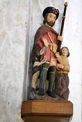 Saint Roch, église Saint-Piere-aux-Liens, Varennes-l'Arconce (71) (odile.cognard.guinot) Tags: saintroch varenneslarconce bourgogne bourgognefranchecomté saôneetloire églisesaintpierreauxliens 16esiècle