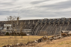 Cherokee Dam (Back Road Photography (Kevin W. Jerrell)) Tags: lakes cherokeelake graingercounty jeffersoncounty newmarket tennessee dams backroadphotography nikond7200 ruralphotography hydroelectric holstonriver