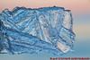 Eiskristalle (Stefan's Gartenbahn) Tags: eiskristalle eisplatte eisscholle ice sonnenuntergang eisstrukturen binz rügen winter