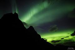Dance of the Spirits (ScenicMotion) Tags: trollstigen åndalsnes northernlights auroraborealis aurora norway bispen kongen fjords nightsky nightscape nightphotography