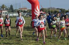 partenza gara junior femminile