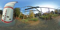 Hansa Park - Nessie 360 Grad (www.nbfotos.de) Tags: hansapark nessie achterbahn rollercoaster 360 360gradfoto ricohthetas freizeitpark vergnügungspark themepark sierksdorf