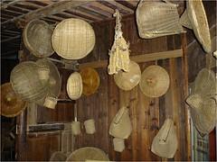 Bamboo Utensils (getaiwan) Tags: bambooutensils 竹編 編織 器具 籠 斗笠 bamboofurniture