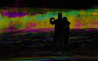 Selfie in the surf (Subtractive filter HSE)