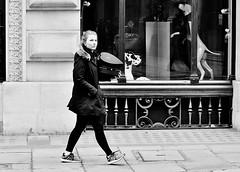 Wear Your Heart On Your Sleeve (jaykay72.) Tags: london uk street candid streetphotography cornhill stphotographia blackandwhite bw
