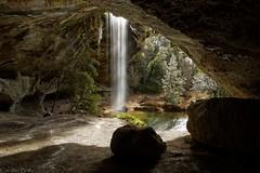 Le Paradis est en Ardèche (2) (Caro2607) Tags: baumicou ruisseau rivière rhônealpes ardèche cascade grotte