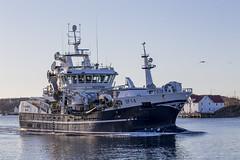 Fishing boat Vesterhav (G E Nilsen) Tags: fishing boat vesterhav port harbour building norway nordnorge northernnorway water vessel sky sea ship