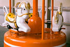 (Casey Lombardo) Tags: film filmphotography carousel carousels merrygoround horses orange expired expiredfilm kodak kodakfilm kodakgold longbeach longbeachca minoltasrt101 gold 100