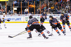 "Kansas City Mavericks vs. Indy Fuel, February 17, 2018, Silverstein Eye Centers Arena, Independence, Missouri.  Photo: © John Howe / Howe Creative Photography, all rights reserved 2018 • <a style=""font-size:0.8em;"" href=""http://www.flickr.com/photos/134016632@N02/40342594702/"" target=""_blank"">View on Flickr</a>"