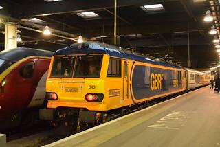 GBRF 92043 @ London Euston train station