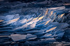 The last light; stacked ice (susannevonschroeder) Tags: lakesuperior abstract blue closeup ice light northshore winter