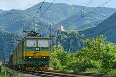 131 087 (Rivo 23) Tags: zssk slovakia state railways žilina electric locomotive skoda class 131 087 freight train cargo slovakrail sk železničná spoločnosť slovensko