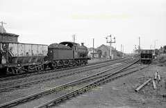1427 65894 South Dock-Dawdon empties Seaham 11-07-67 (John Boyes)226 (Ernies Railway Archive) Tags: seahamstation ner lner ncb