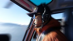 Mt. Everest Helicopter Expedition (posterboy2007) Tags: nepal pilot nepali helicopter airbus h125 sunrise cockpit zoomblur