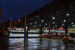 Blackpool Transport Rigby Road Depot (Will Swain) Tags: blackpool 7th october 2017 north west lancs lancashire town tram trams light rail railway rails transport travel europe tramway rigby road depot