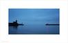 Red Light (Ian Bramham) Tags: whitehaven harbour cumbria dusk