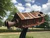 Robbie Barber, Dreams of Flying, Jule Collins Smith Museum of Fine Art, Auburn AL (Deep Fried Kudzu) Tags: robbie barber house shotgun sculpture