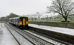 150228 at Dove Holes Station (robmcrorie) Tags: 150228 class 150 dmu manchester piccadilly train rail railway derbyshire buxton peak district nikon d7500 winter snow