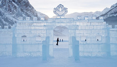 Ice Castle (Grant Mattice Photography) Tags: grantmatticephotography lakelouise banffnationalpark canadian canada canadianrockies skate tourismalberta explorecanada explorealberta ice icecastles cold winter