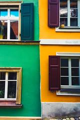 Bamberg Häuserfront 2 (SimonSch) Tags: streetphotography franken houses frankonia fashion farbreich bayern symmetrie colorful symetrical architektur farben architecture streetart häuser bamberg bavaria deutschland