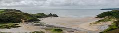 Three Cliffs Bay, Gower (jonshort58) Tags: threecliffsbay gower southwales september 2017 summer beach seaside