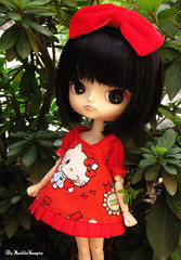 Anna ♥ (♥ MarildaHungria ♥) Tags: anna dal puki pooka groove doll obitsued kawaii cute hellokitty dress