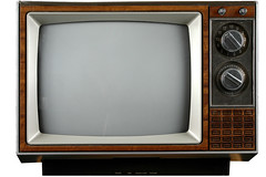 Television (clevergreed10) Tags: analog antenna grunge grungy broadcast dials display electronics knobs news noise old retro screen technology television tube tv tvtuner video vintage white whitebackground unitedstatesofamerica