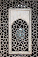 delhi window (kexi) Tags: delhi india asia vertical stone marble pattern window intricate canon february 2017 old ancient humayunstomb instantfave