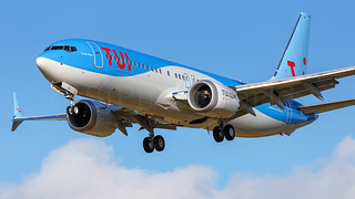 TUI Boeing B737-8 Max OO-MAX