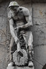 Hamburg (michael_hamburg69) Tags: hamburg germany deutschland hansestadt sculpture male skulptur admiralitätstrase74 handwerk worker emichaeliscogmbhcokgwebsiteroutenplaner verpackungsunternehmen papiergroshändler holz wood logger lumberjack holzarbeiter holzfäller