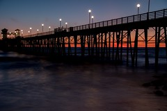 2017 Oceanside Pier Sunset 5 (DrLensCap) Tags: oceanside pier sunset california ca pacific ocean robert kramer