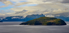 Boyer Island, Anvil Island, Mount Wrottesley (martincarlisle) Tags: howesound boyerisland anvilisland mountwrottesley britishcolumbia canada seatosky seatoskyhighway pascoroad horseshoebay inlets fjords islands clouds canoneosm captureonepro11 nwn