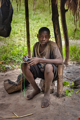 Transistor Radio (Rod Waddington) Tags: africa african afrique afrika uganda ugandan transistor radio boy child aerial wood wooden hut outdoor culture cultural ethnic ethnicity people