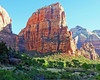 Angels Landing, Zion Naitonal Park, 4-14 (inkknife_2000 (9 million views)) Tags: zionnationalpark nationalparks usa landscapes americanwest clifferosion redrock cliffwalls angelslanding virginriver utah dgrahamphoto hikr scaryhike